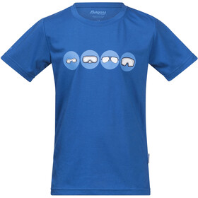 Bergans Goggles T-shirt Enfant, athens blue/light winter sky
